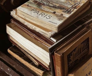academic, old books, and outdoors image