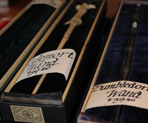 wand, harry potter, and voldemort image