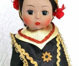 1980s, vintage Doll, and collectible image
