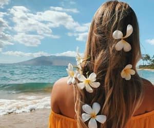 beach, summer girl beach, and summer girl pretty image