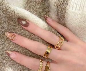 acrylics, nail inspo, and nails image