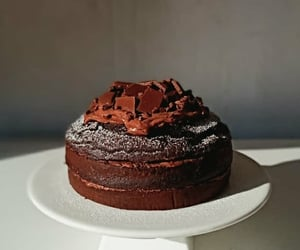 baking, brown, and chocolate image