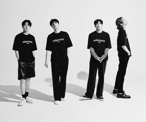 black white, park jaehyung, and yoon dowoon image
