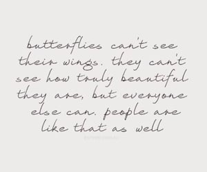 beautiful, quotes, and butterfly image