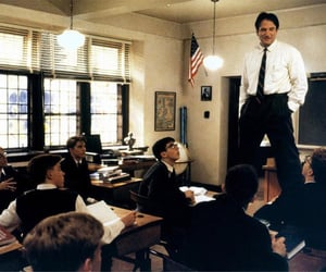 dead poets society, inspiration, and teacher image