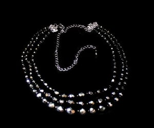 bead necklace, etsy, and gothic necklace image
