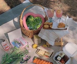 aesthetic, lemonade, and sandwich image