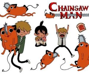animanga, chainsawman, and chainsaw image