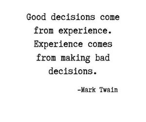 experience, perspective, and quote image