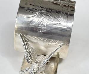 etsy, meriden b napkin, and napkin rings image