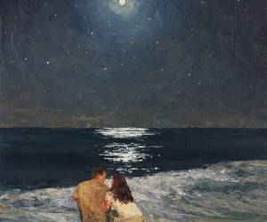 art, love, and couple image