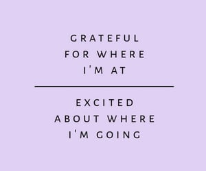 quotes, grateful, and lilac image