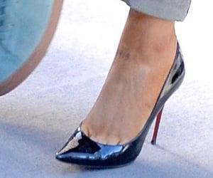 black, black heels, and core image