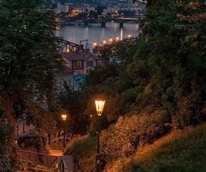 night and travel image