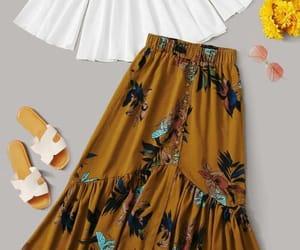 floral skirt image