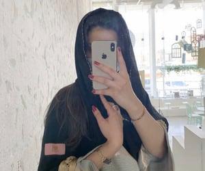 arab, clothing, and hijab image