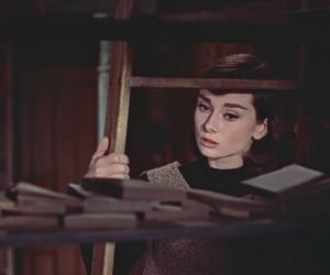 movie, audrey hepburn, and funny face image