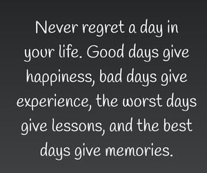experience, lessons, and happiness image