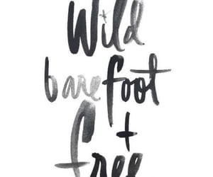 wild barefoot and free image
