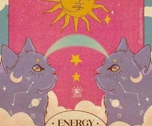 cats, energy, and spiritual image