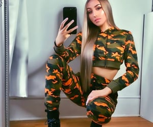 army, military, and orange image