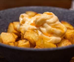 Barcelona, paprika aioli, and potato image