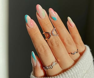 jewelry, nails art, and nails design image