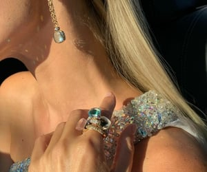 beautiful, diamonds, and party image
