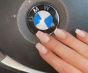 bmw, nails, and nails aesthetic image