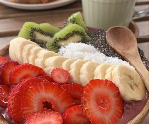 acai, banana, and breakfast image