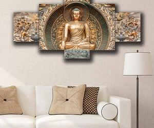 anime, dekorasirumah, and Buddha image