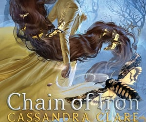 the mortal instruments, cassandra clare, and chain of iron image