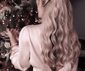beautiful hair, hairstyles, and blonde hair image