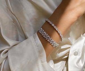 bracelet, diamonds, and accessories image