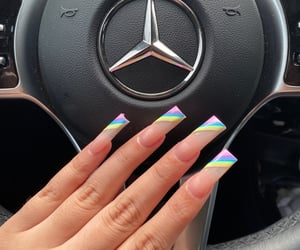 heart it, like, and nails image