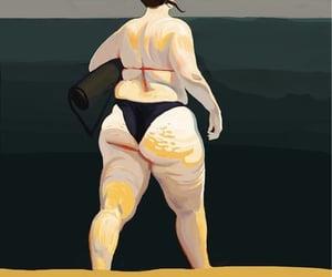 yoga, bikini body, and salud image