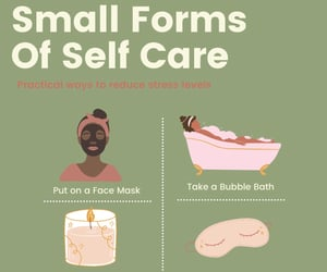 bubblebath, candles, and face mask image