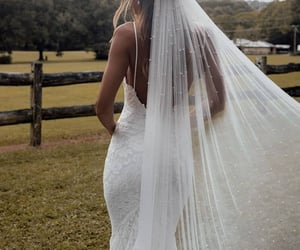 Blanc, bride, and lace image