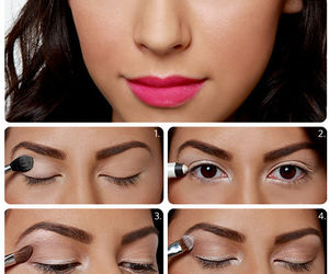 makeup, step by step, and tutorial image