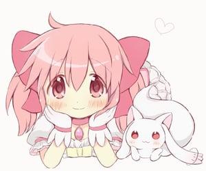 anime, kawaii, and pink image