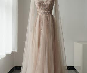 evening dress, prom dress, and formal dress image