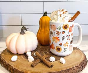 autumn, mug, and nature image