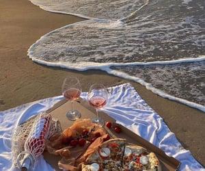 beach and fresh taste image