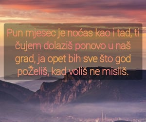 Montenegro, ljubav, and quotes image