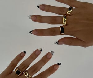 accessories, gold, and nude aesthetic image