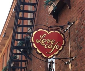 love, aesthetic, and cafe image