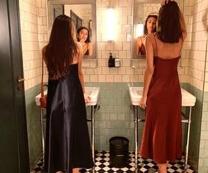 dress, girl, and vintage image