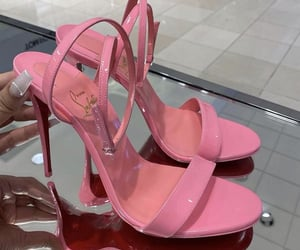 zapatillas and pink. love image