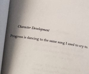 quotes, progress, and book image