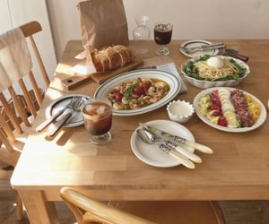 family, food, and healthy image